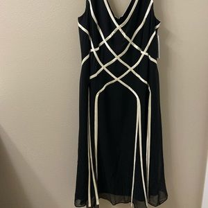 NWT Silk Party Dress - Ribbons!!